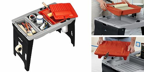 workmate portable paint station black and decker industrial
